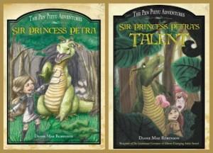 Sir Princess Petra, book 1 & 2